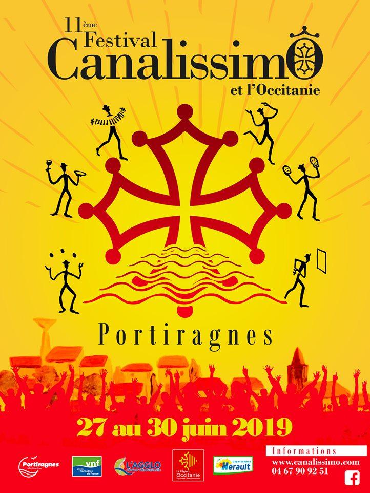 Présentation programme CanalissimÔ Ce SAMEDI 25 MAI 2019 à 11h30, Écluses de PORTIRAGNES