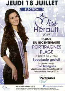Election Miss Hérault @ Place du Bicentenaire