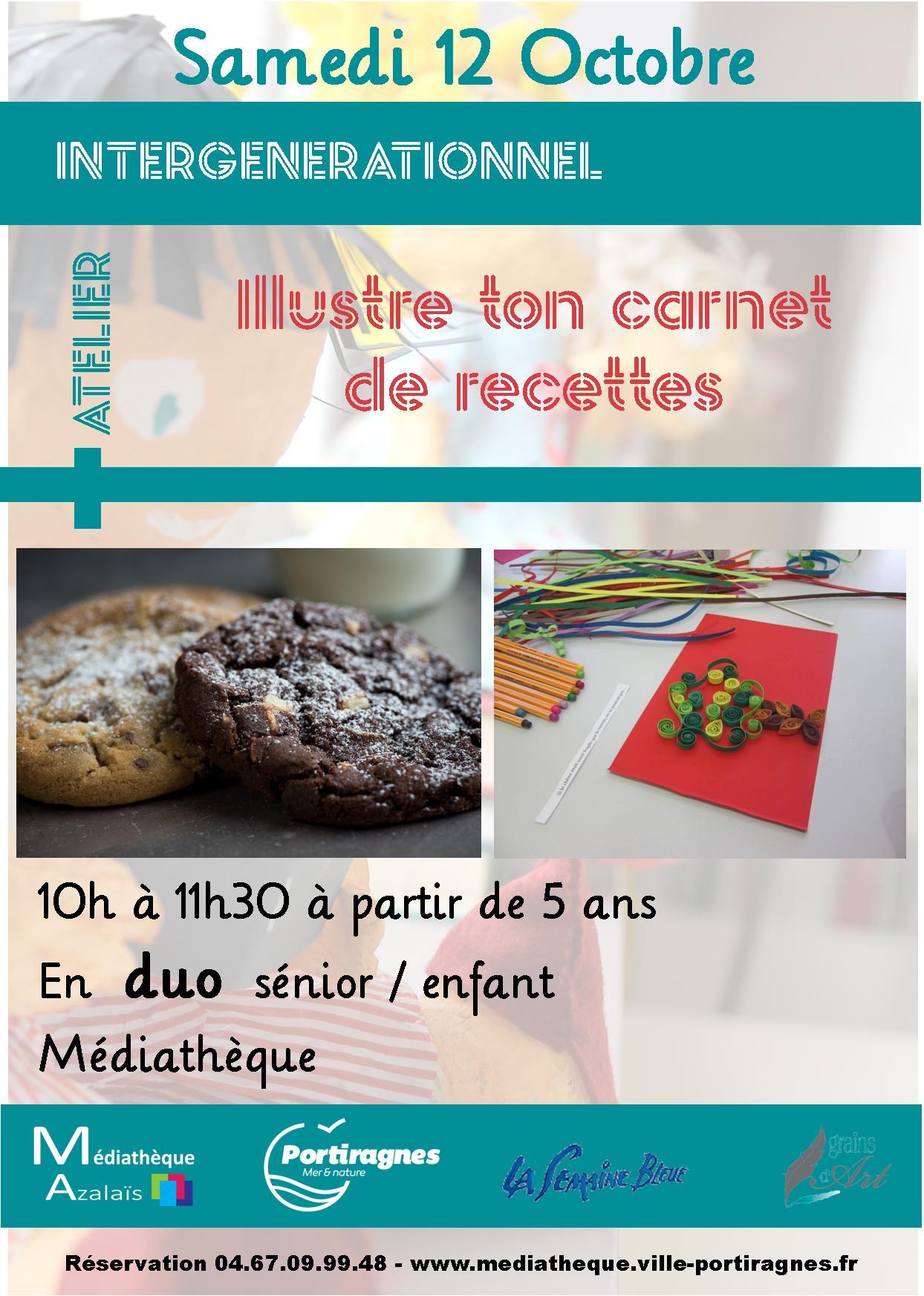Atelier » Illustre ton carnet de recettes»