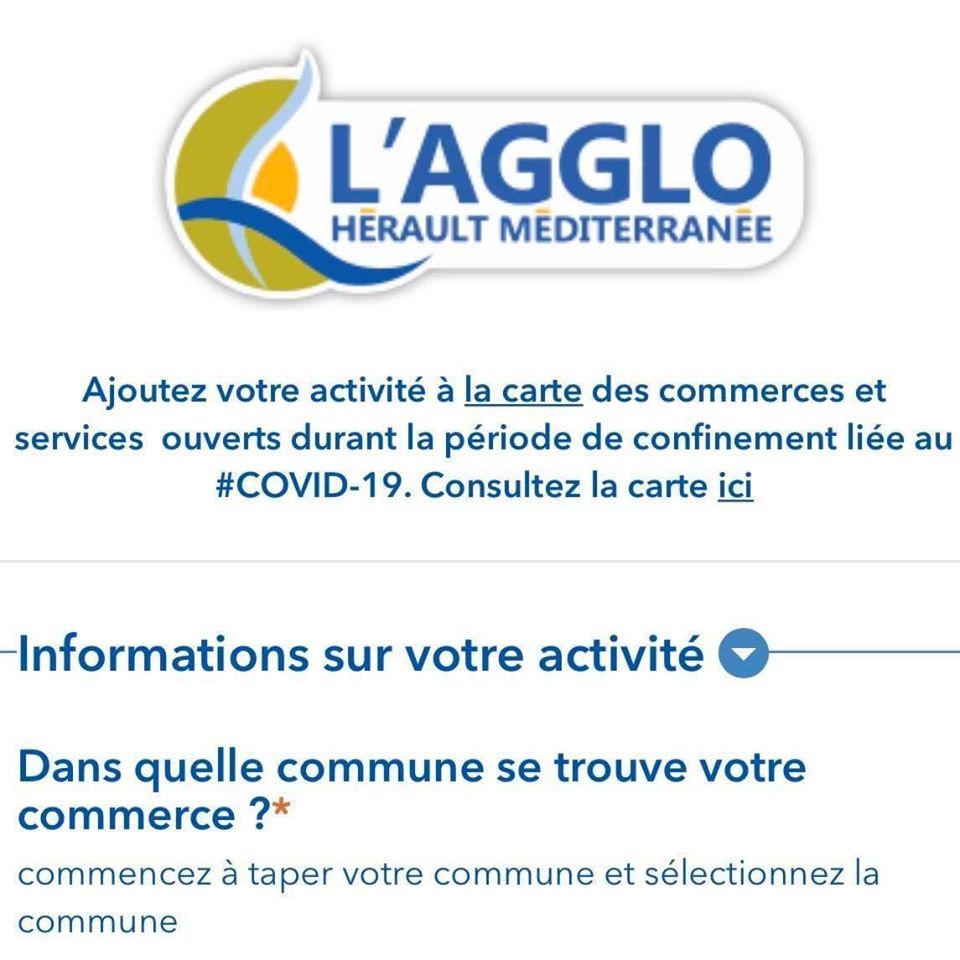 Plateforme interactive dédiée aux commerçants ouverts