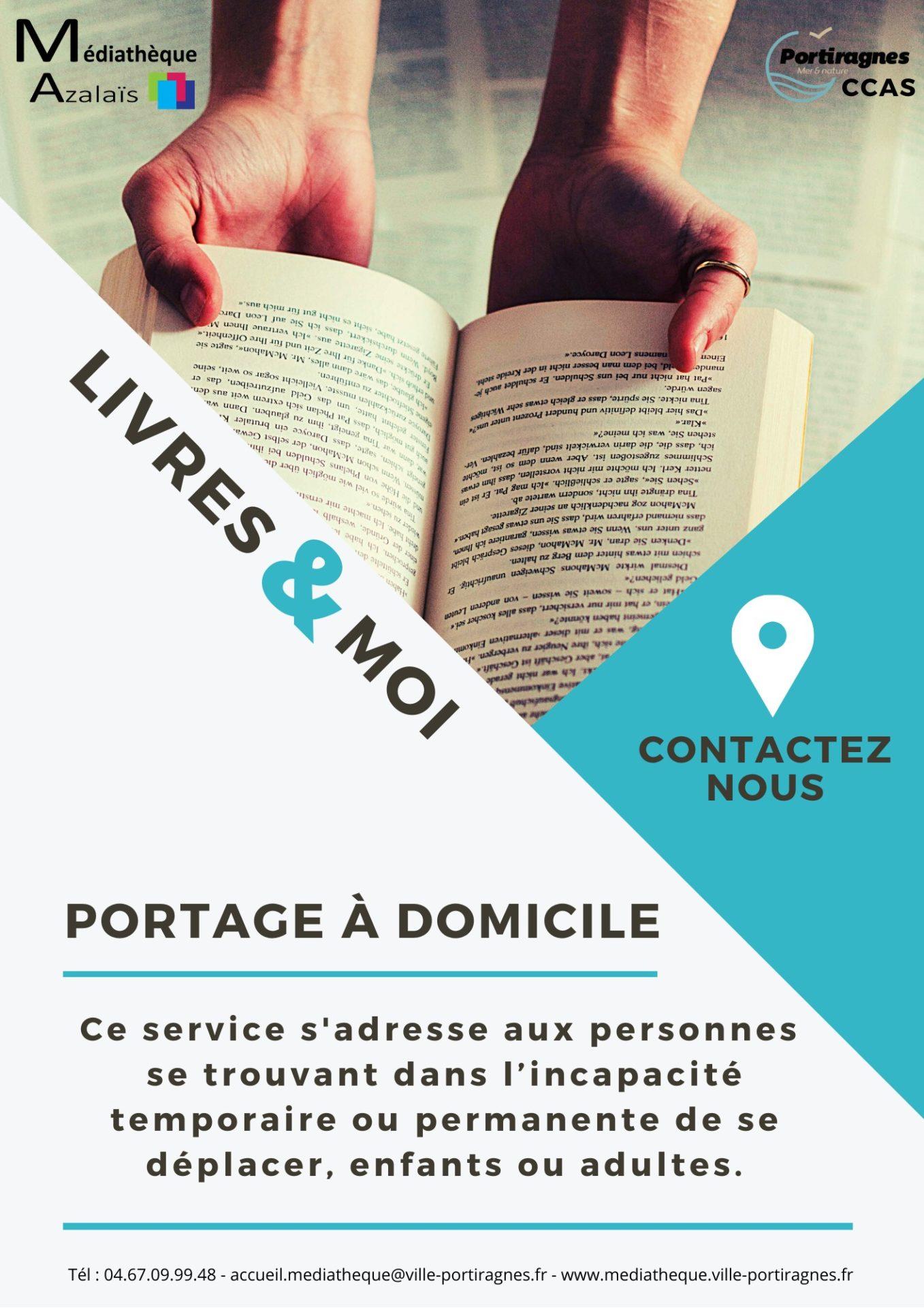 Médiathèque : Livres & Moi