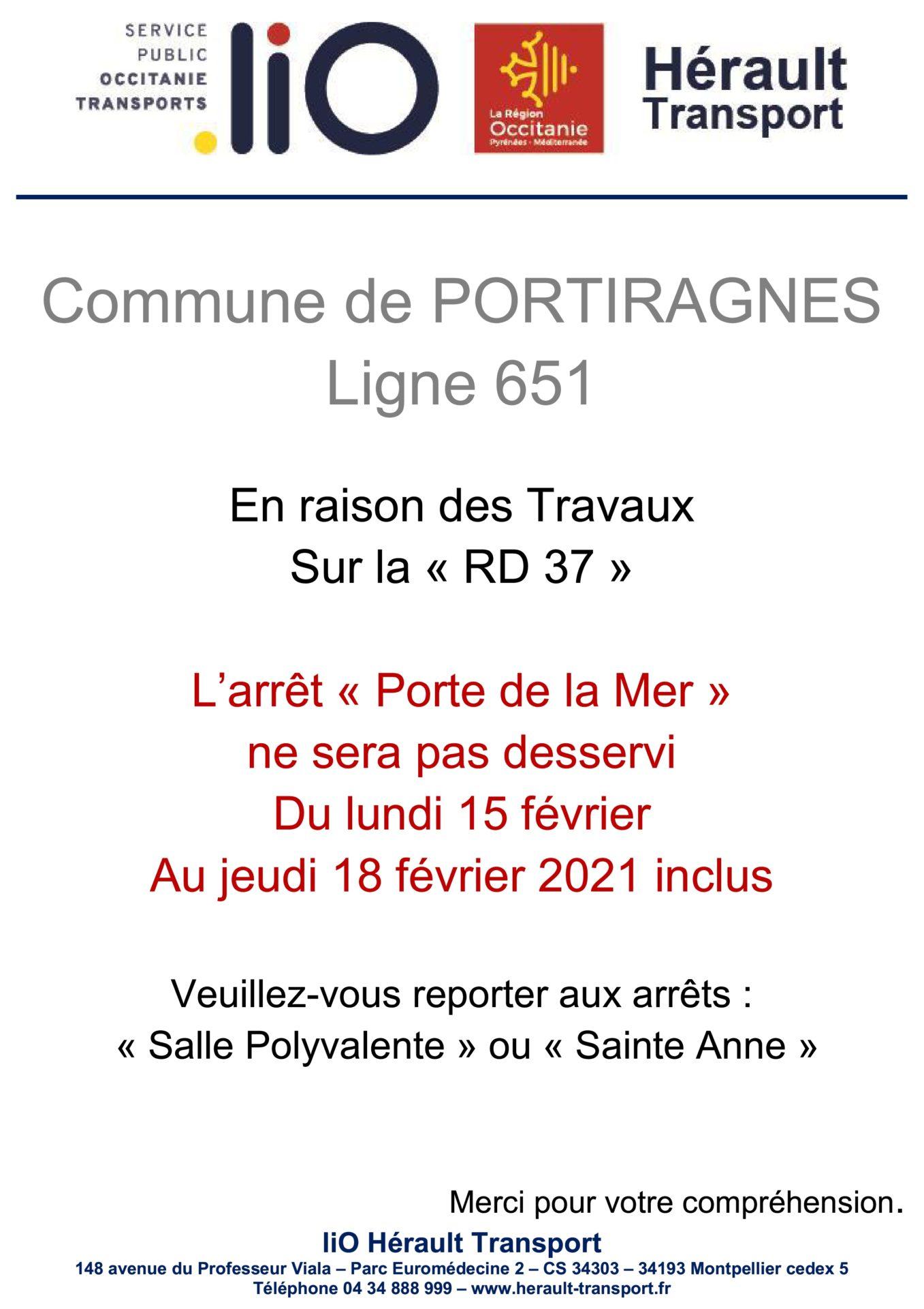 Communiqué – Hérault Transport