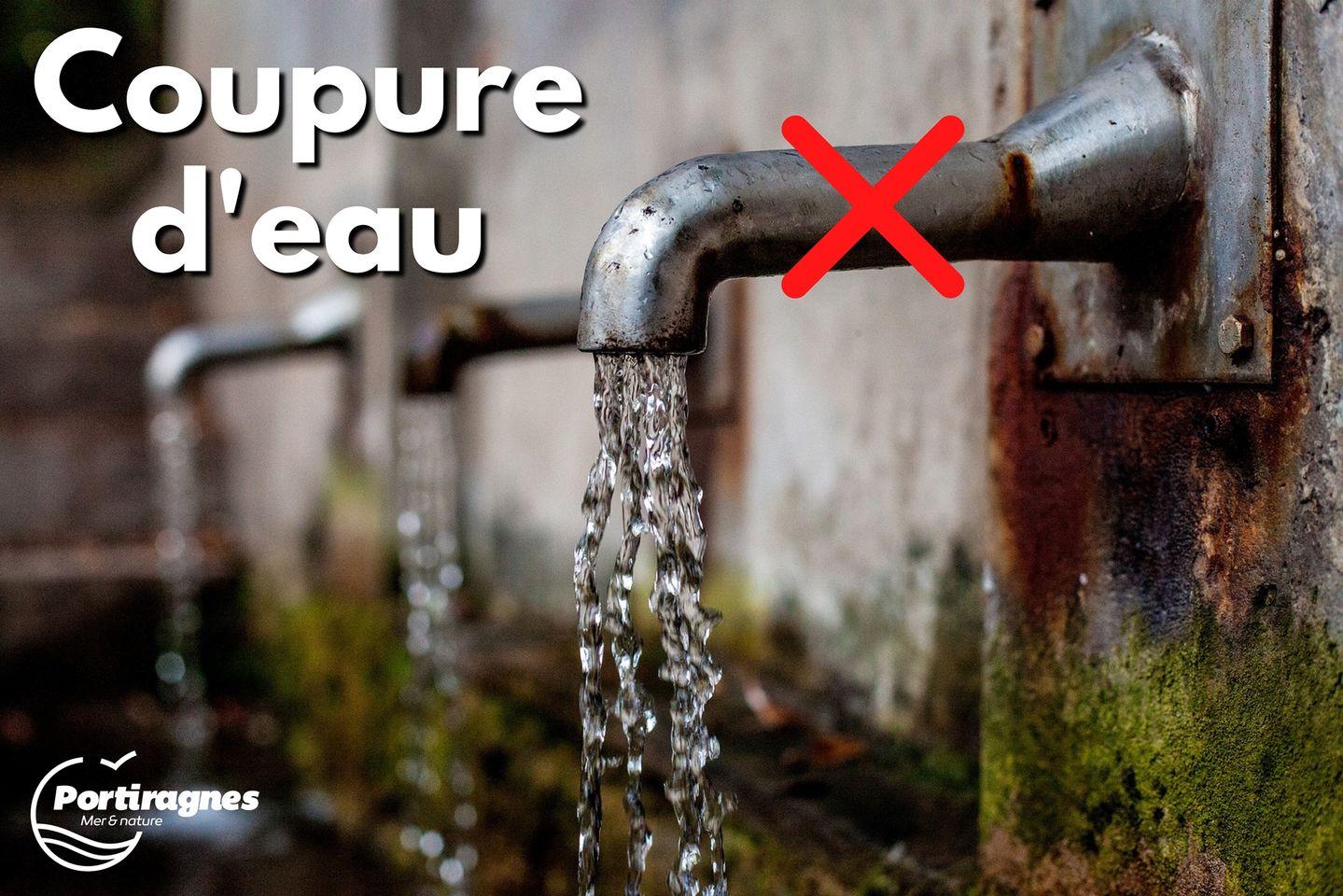SUEZ – Avis de coupure d'eau