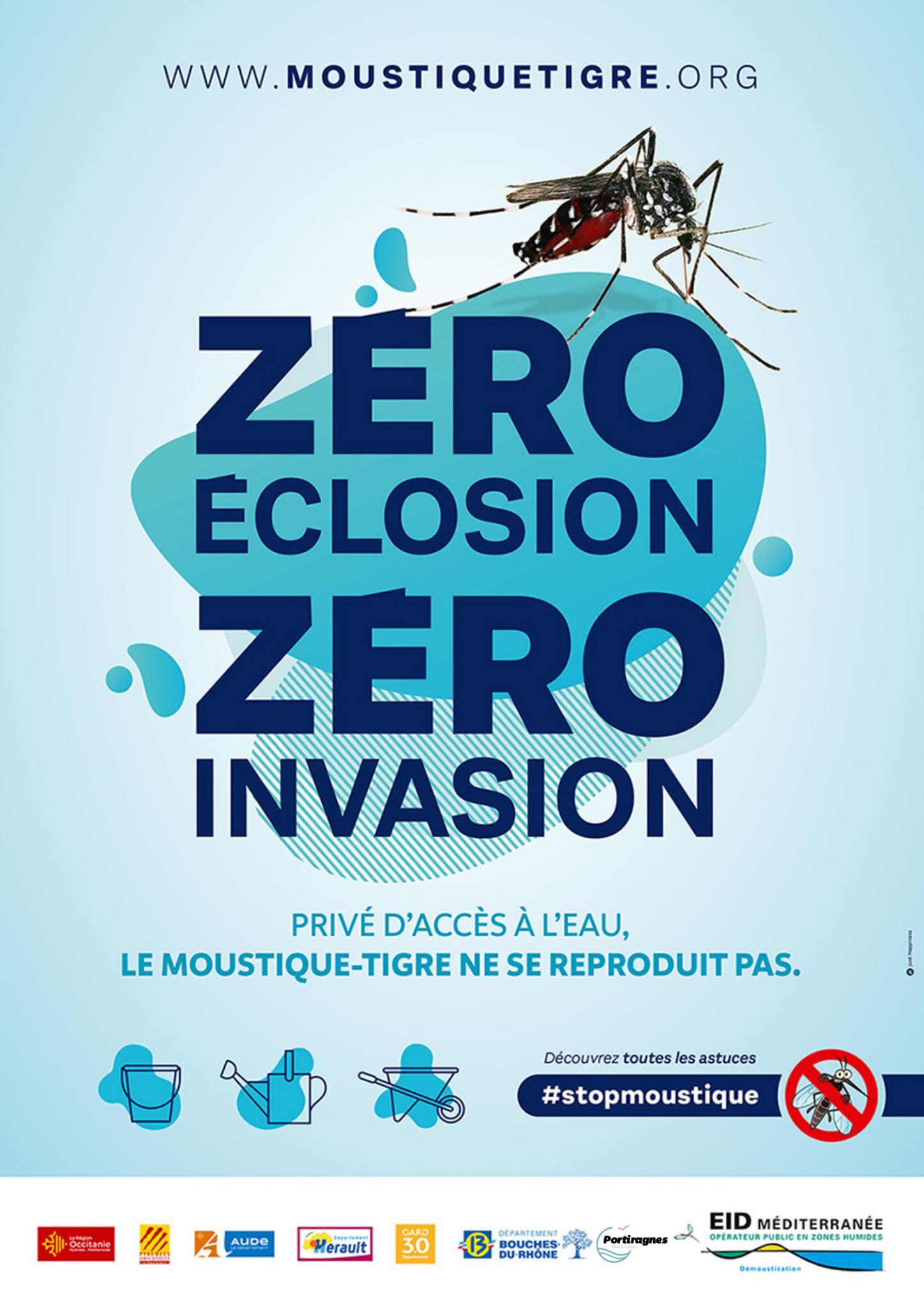 ZERO éclosion ZERO invasion !