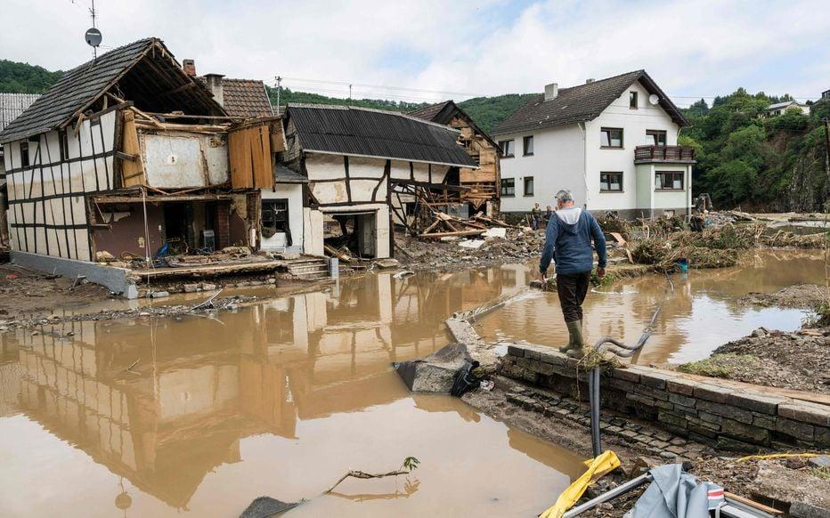 Soutien suite aux inondations de l'est de la France, l'Allemagne et la Belgique