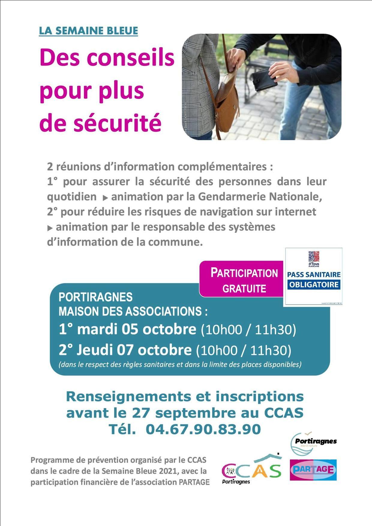 CCAS & Prévention sécurité