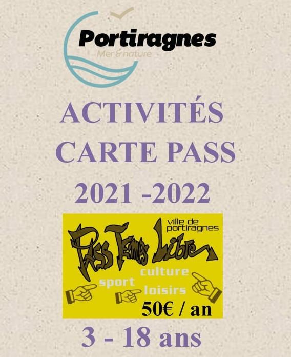 Les activités avec la carte PASS